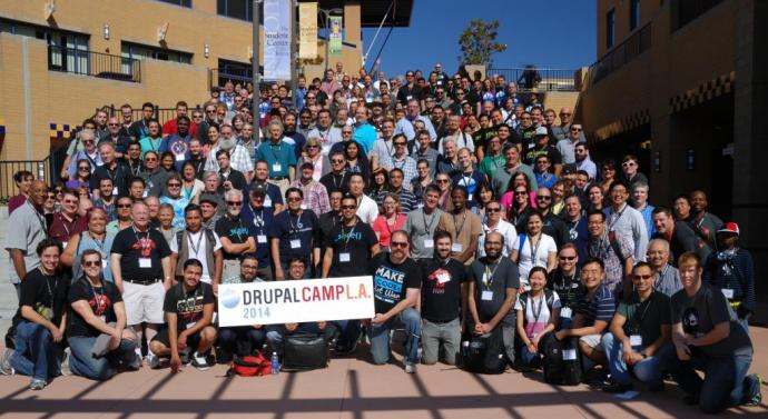 DrupalCamp LA 2014 Group photo